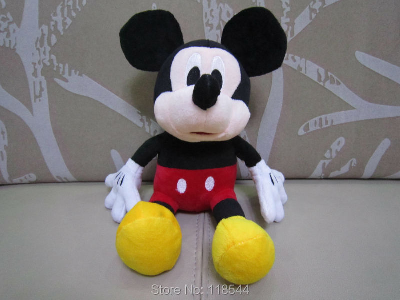 hot!!! discount more 30cm mickey mouse plush minnie mouse child present child toy plush toy mouse toy one piece free shipping(China (Mainland))