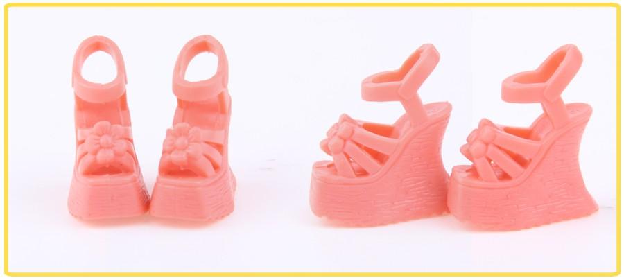 Random Decide  Sneakers 10 pairs Free Transport Sneakers Combine Type Combine Colour Sneakers Equipment for Barbie Doll Wholesale DIY
