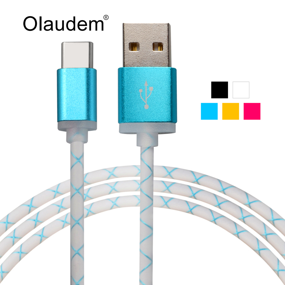 Hi-Speed USB 3.1 Type-C Data Sync Charging USB-C Cable Macbook Nexus 5X 6P Nokia N1 Oneplus 2 Lumia 950 XL USBC1098  -  OLAUDEM Official Store store