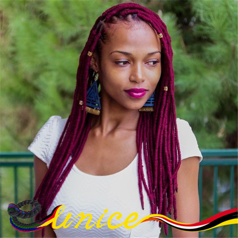 Crochet Goddess Faux Locs : Dreadlocks Crochet Braids Hair Extensions Synthetic Faux Locs Goddess ...