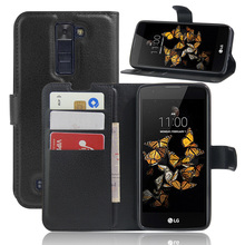 "Buy FliP case LG K8 case Vintage Wallet Leather Phone Case LG K8 Lte K350 K 8 4G 5.0""Coque Stand Card Slots Cover fundas for $2.85 in AliExpress store"