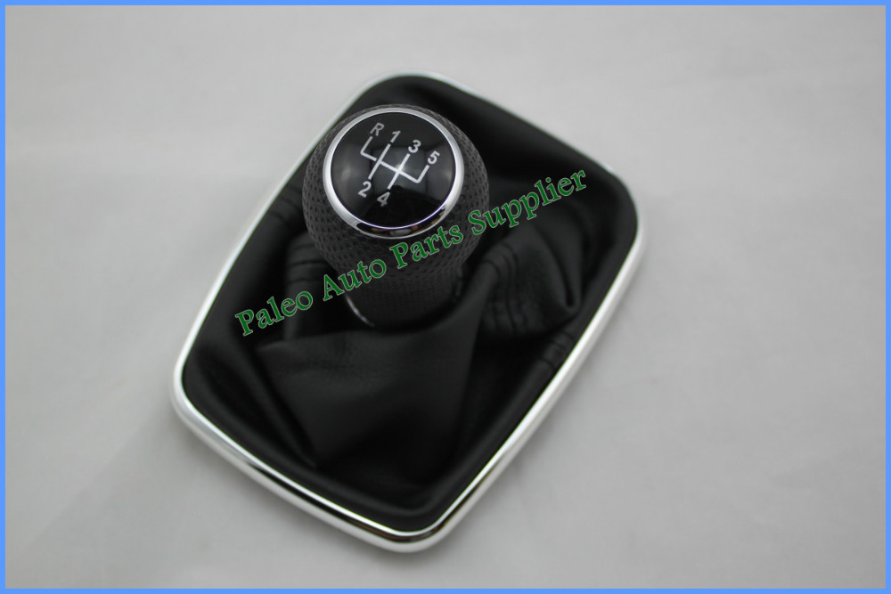Car Gear Shift Knob Black Cap 5 Speed 23mm With Chrome Frame For VW Golf 4 1998 1999 2000 2001 2002 2003 2004 2005 2006 Bora<br><br>Aliexpress