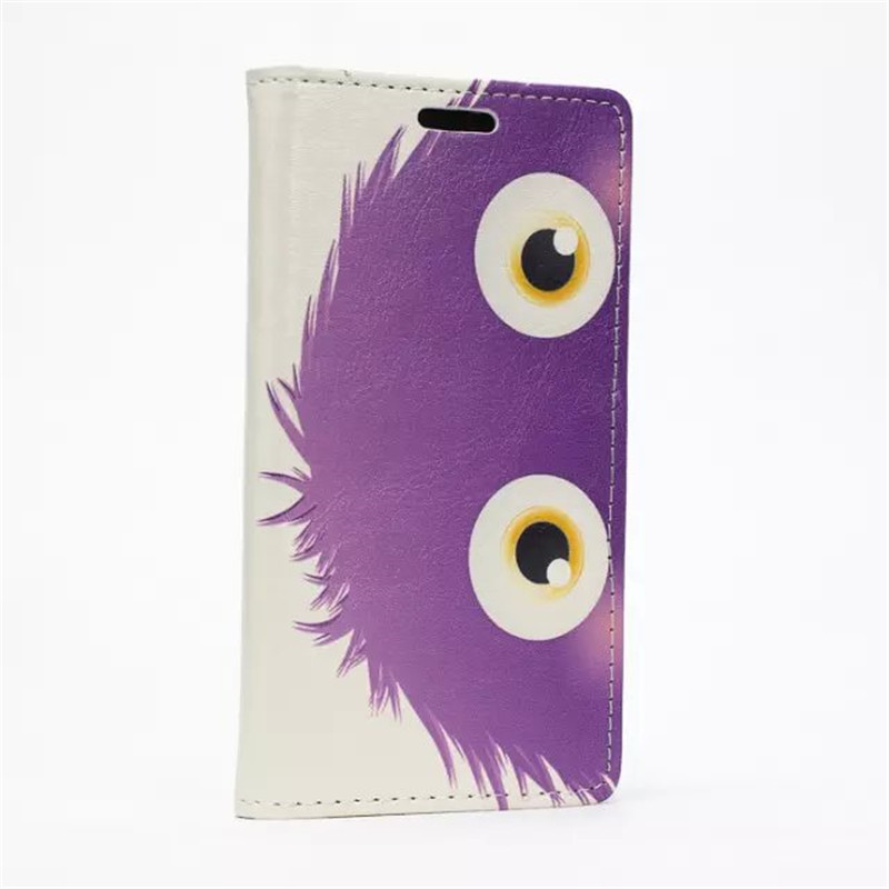 Cartoon little purple hair animal large bright eye cell phone protective cover case for Motorola Moto fashion girl phone jewelry(China (Mainland))