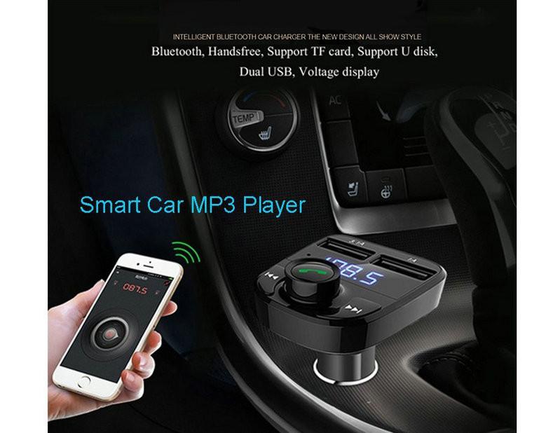 Dual USB Car Charger Bluetooth Car Kit (12)