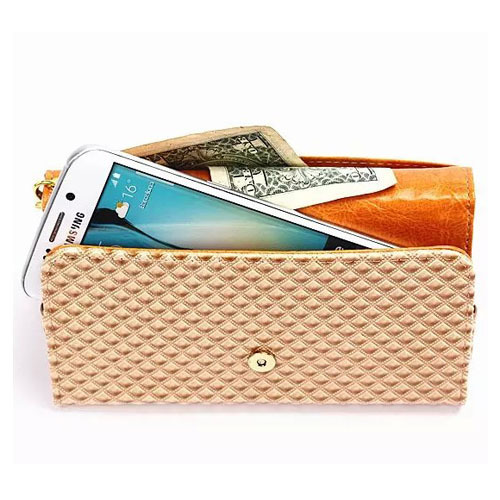 Universal Grid Style Wallet Card Cover Case Mobile Phone Pouch PU Leather Bag for Meizu MX4 Meizu MX4 Pro Meizu m1 note Meizu m1(China (Mainland))