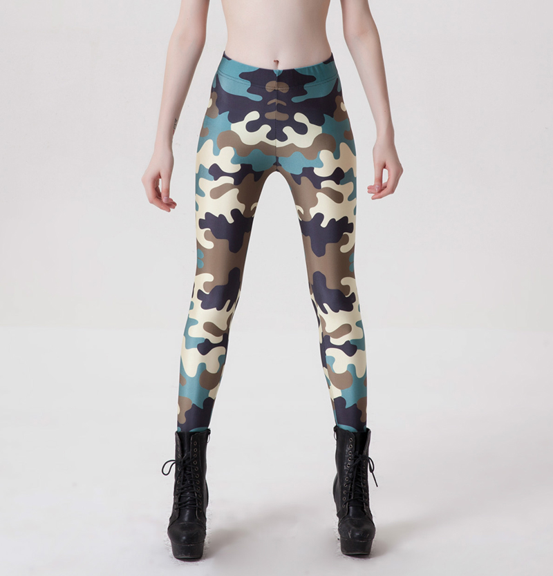 Fitness Leggings Camo: Popular Camouflage Workout Clothes-Buy Cheap Camouflage