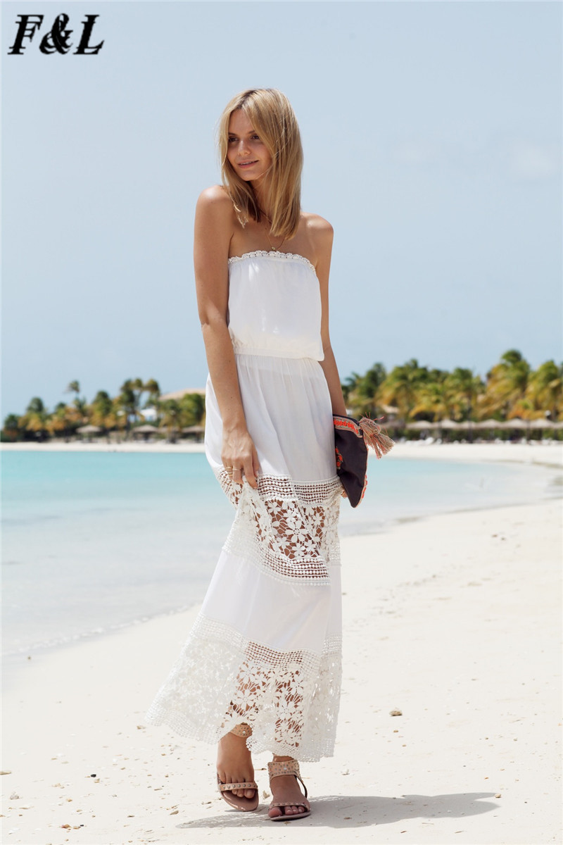 white beach dresses for women long maxi | Movement and Meaning