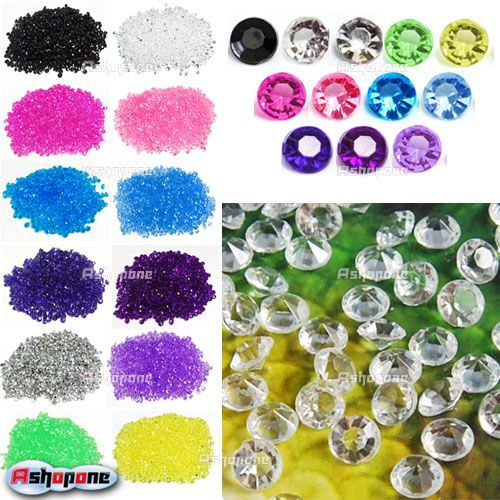 (1000pcs/pack )Wedding Table Diamonds Scatter Crystals Decorations 4.5mm(China (Mainland))