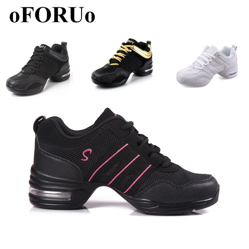 2017 Sports Feature Soft Outsole Breath Dance Shoes Sneakers For Woman Practice Shoes Modern Dance Jazz Shoes Discount(China (Mainland))