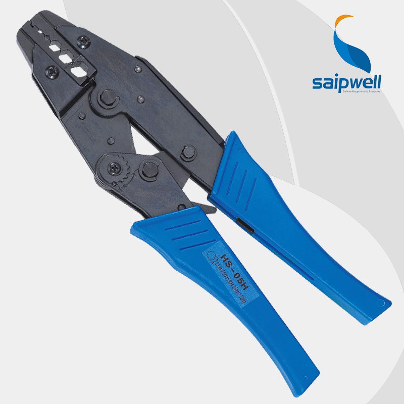 Saipwell HS-05H wire stripper EUROP STYLE ratchet crimping PLIER crimping plier RG59,RG6,VIDEO CABLE multi tool(China (Mainland))