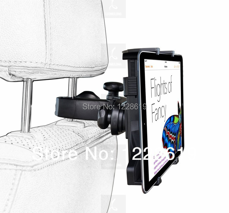 Universal 7-11 inch Car back seat Mount Tablet PC holder support stand ipad2/3/4/5/6 mini1/2/3 Samsung tab tablet pc - Chinese mobile phone electronic city store