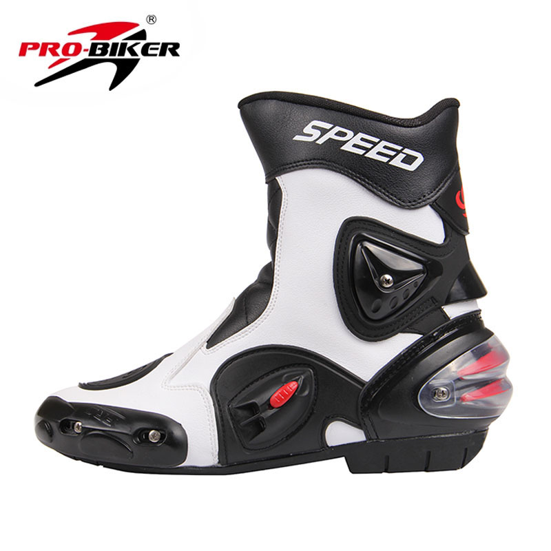 Free shipping New PRO-BIKER SPEED BIKERS Mens Motorcycle Racing Shoes Outdoor Sports Motorcycle Motorbike Motocross Moto boots<br><br>Aliexpress