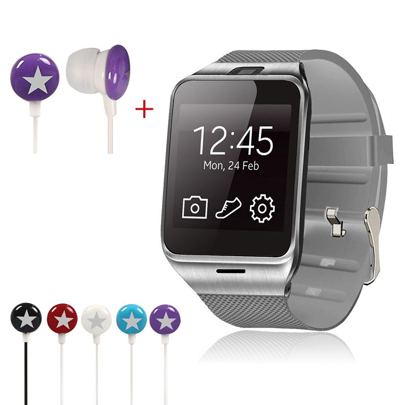 Original SmartWatch Bluetooth Smart Watch GV18 Support Android Phone Montre Connecter With Free TF Card PK dz09 f69 with a gift(China (Mainland))