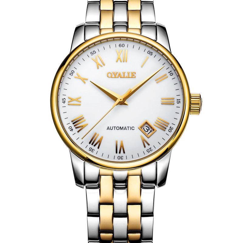 Automatic Watch Men Clock Mens Luxury Mens Waterproof Table Wrist Watches Man Mechanical Wristwatch Gift Roman Sapphire<br><br>Aliexpress
