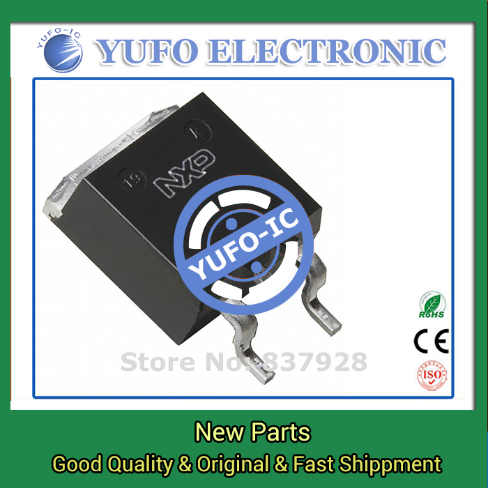Free Shipping 10PCS BUK7611-55A 118 original authentic [MOSFET N-CH 55V 75A D2PAK]  (YF1115D)