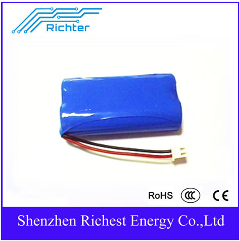 Multipurpose Richter Brand IFR Rechargeable Lithium Battery 14500 500mah 3 2V flat pointed for Consumer Electronics