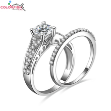 Real 925Silver Ring Wedding Engagement Anel aneis de diamante Round Cut 1ct NSCD Simulated Diamond Twist Ring Infinity Love Ring(China (Mainland))