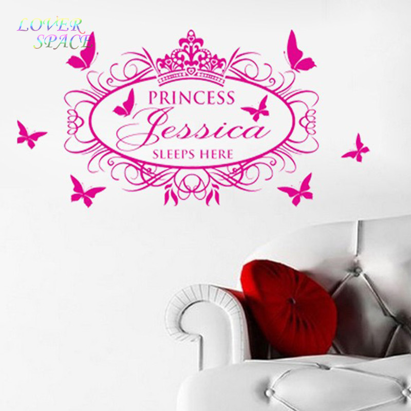 Free Shipping Princess Sleeps Here Custom Name Princess