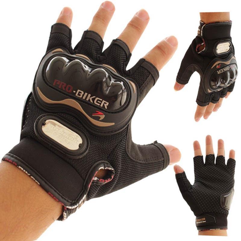 Motorcycle Gloves Pro biker half finger Racing motocross motorbike motocicleta guantes gloves Men Dirt luvas para moto eldiven L(China (Mainland))