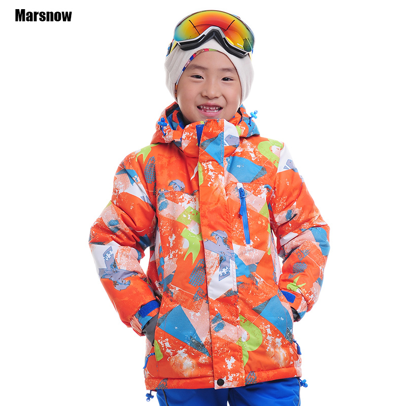 Dropshipping new arrival waterproof windproof breathabel keep warm jacket outwear kids warm ski coat winter snow jacket girls(China (Mainland))