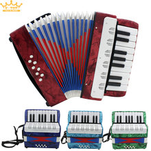 22 Key Professional Mini Accordion High Quality Educational Musical Instrument Rhythm Band for Both Kids & Adult(China (Mainland))