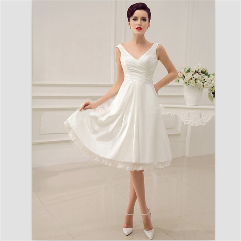 Buy 2015 Elegant White Taffeta Bridal