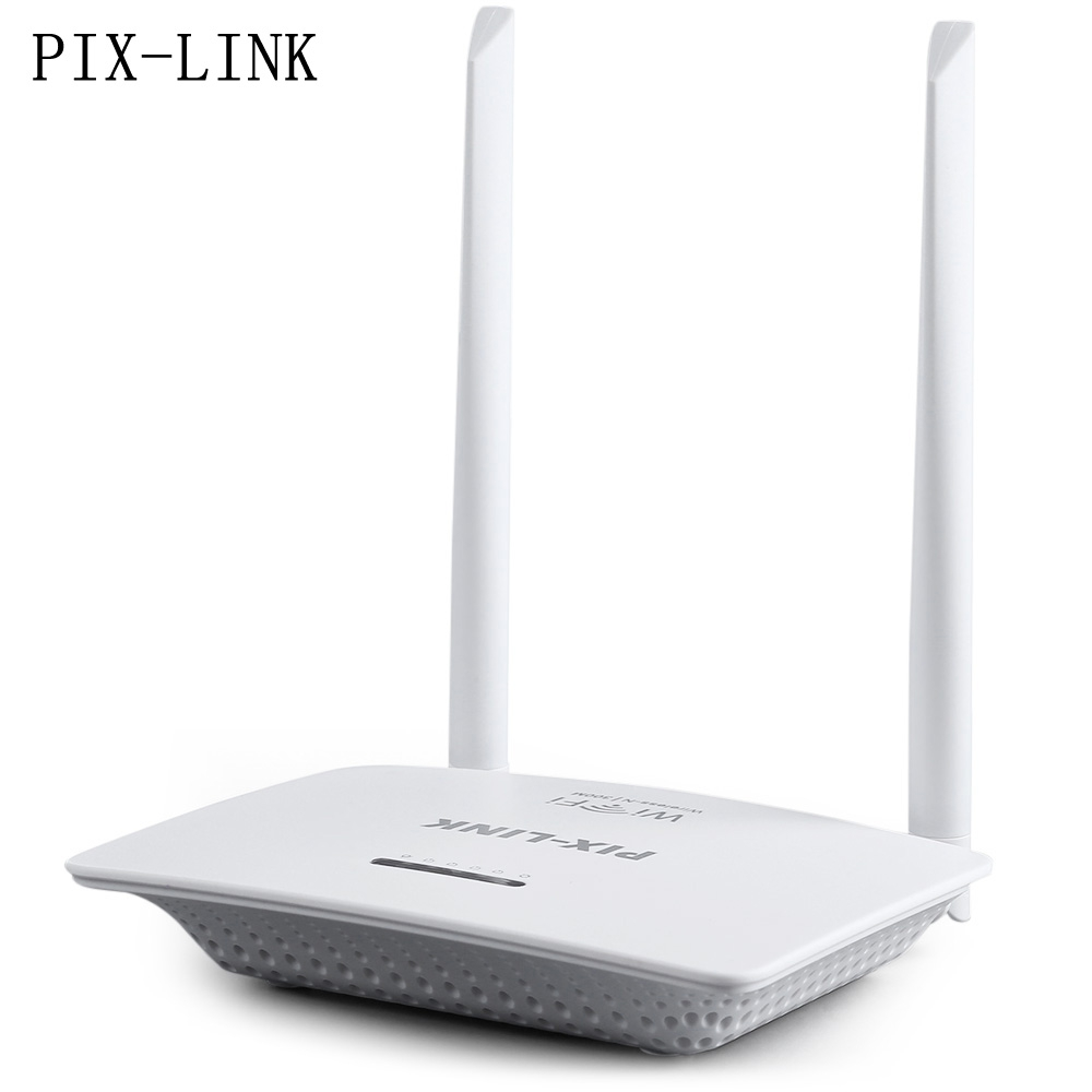 PIX - LINK 300Mbps Wireless Router Wifi Router Repeater with Modem Function Wireless-N Router Server with Two Antennas(China (Mainland))