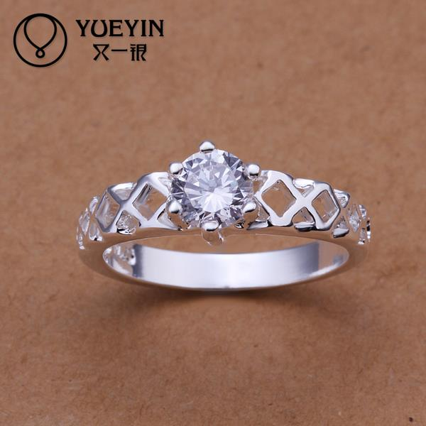 R197 2015 Hot selling 925 sterling silver party ring for women fashion romantic jewelry(China (Mainland))