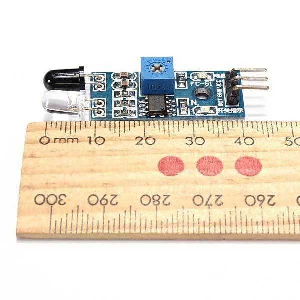 Barmanner Obstacle Avoidance Sensor Module Infrared Reflection Photoelectric Control(China (Mainland))