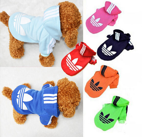 Гаджет  5 Color Pet Products Pet Clothes Cotton Black Sports Autumn Winter Dog Clothes Dog Sweater Free Shipping None Дом и Сад