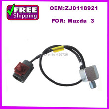 HIGH QUALITY ZJ0118921 ZJ01-18-921  KNOCK SENSOR Knock (Detonation) Sensor for Mazda  3(China (Mainland))