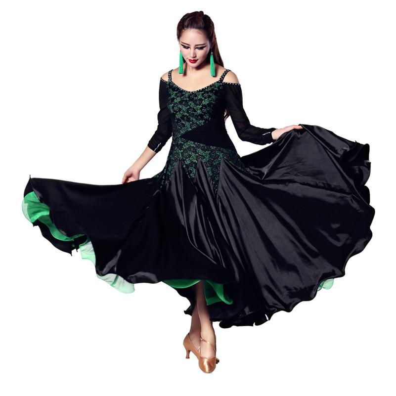 New Performance Practice Ballroom Latin Sequin Stage Women  Dancing Costume Latin Tango Sexy Club Clothing dress Dancewear YL302Одежда и ак�е��уары<br><br><br>Aliexpress