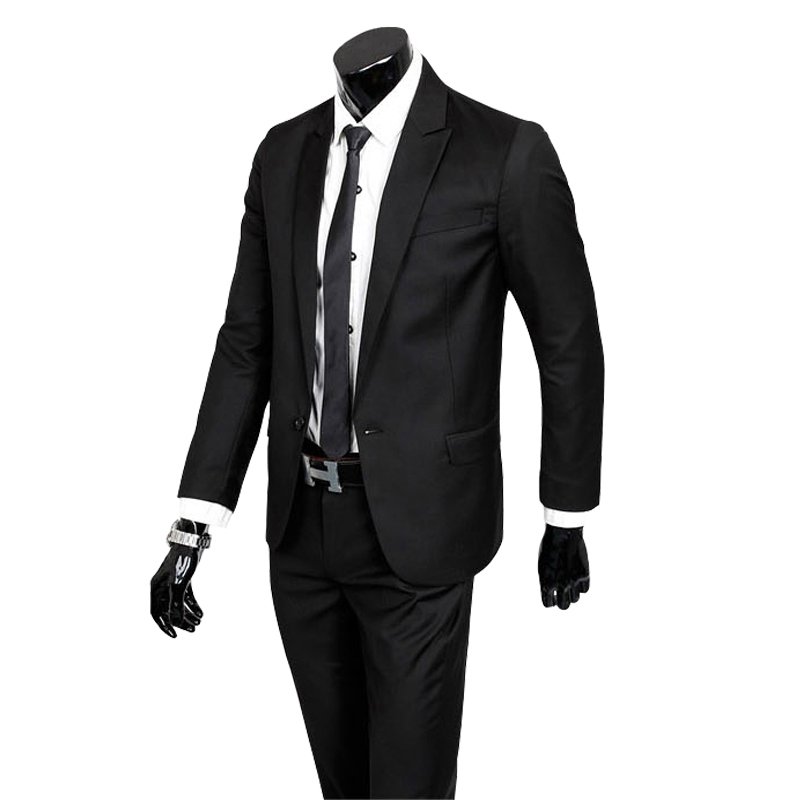 (Jacket+Pants)2015 High Quality New Fashion Men Suit Jacket Brand Mens Blazer Business Slim Clothing Suit And Pants Top SellingОдежда и ак�е��уары<br><br><br>Aliexpress