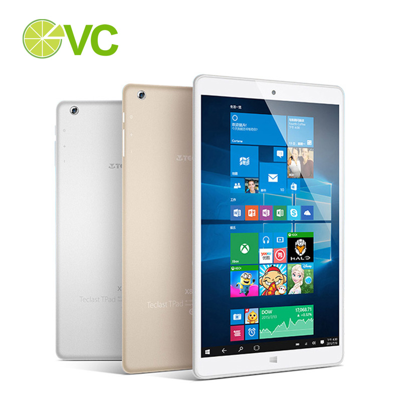 Original Teclast x80 Power Intel Cherry Trail Tablet pc 8 Inch 1920x1200 pixels Screen Windows 10 + Android 5.1 OS(China (Mainland))