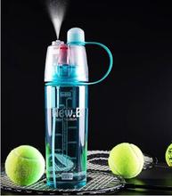 Buy 400ml 600ml Design Plastic Sports Spray straw Water Bottle Cup Straw Outdoor Bike Sports Drinking Bottles free for $7.00 in AliExpress store
