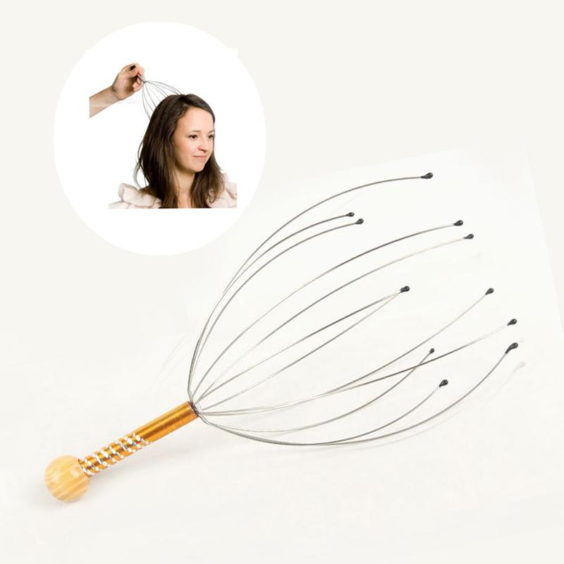 New Head Neck Scalp Equipment Stress Relax Massage Head Massager Health Tool Relax Body Messager(China (Mainland))