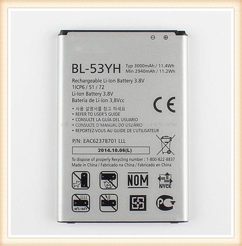 Гаджет  100% Original New 3000mAh BL-53YH BL53YH Battery Replacement Battery For LG G3 F400 F460 D858 D830 VS985 None Электротехническое оборудование и материалы