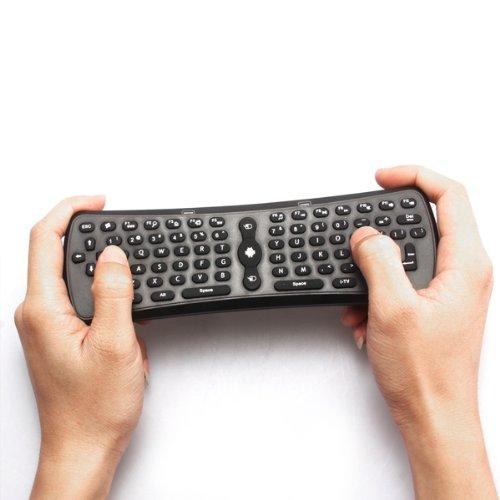 10 шт Оптовая воздушная мышь Т3 ВЧ 2,4 ГГц 3 в 1 Беспроводная клавиатура QWERTY Маус Tastatur Fernbedienung Пт ТВ