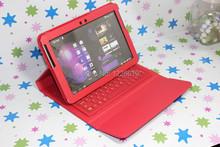 Для Samsung Galaxy Tab 2 P5100 / P7500 10.1 » планшет пк стенд защитная крышка чехол беспроводной P5100 кремния bluetooth клавиатура