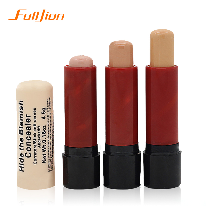 Hot Women's face care Concealer Hide The Blemish Creamy Concealer Stick Facial Make Up For Face Eye Lip care(China (Mainland))