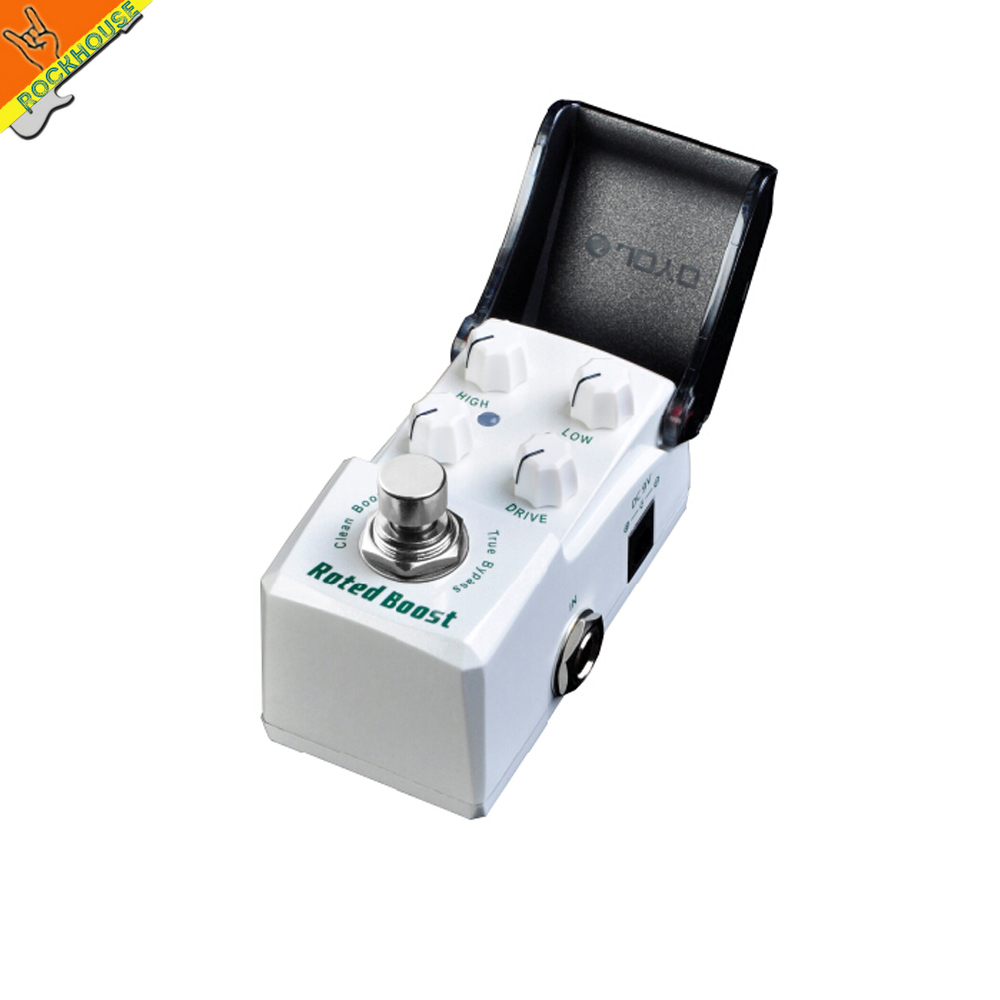 New JOYO JF-301 IRONMAN Clean boost guitar effect pedal low gain boost output energy Lighting the tone ture bypass free shipping(China (Mainland))