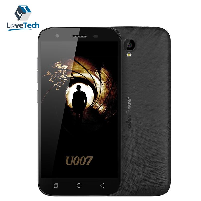 Ulefone U007 MTK MT6580A Quad Core 3G Smartphone 1GB RAM 8GB ROM 5.0 Inch 1280*720 Camera 2MP+8MP 2300mAh Battery Android 6.0(China (Mainland))
