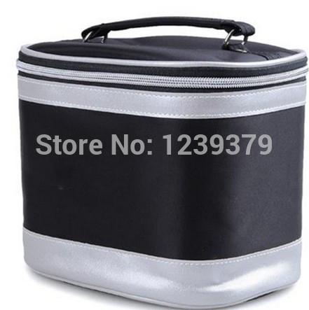 New Fashion Women Cosmetic Bag Travel Makeup Make up Storage Organizer Box Beauty Case With LOGO HZB001(China (Mainland))