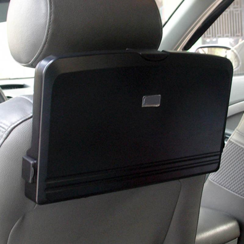 buy folding car auto back seat table drink food cup tray holder stand desk black shelf car seats. Black Bedroom Furniture Sets. Home Design Ideas