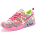 2016 Fashion Womens Casual Shoes Female Breathable Footwear Ladies Comfortable Platform Air Cushion Pink Flats Walking