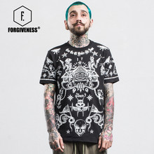 Buy FORGIVENESS Tide Brand European American Hip Hop Men Printing Male Couple Short Sleeve T Shirt Spring Summer 95% Cotton T-shirt for $18.70 in AliExpress store