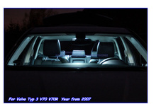 Buy Car Interior LED Bulbs Kit Xenon white Volvo Typ 3 V70 V70R 2007 Parking LED Lights Map Dome Footwell Glove Trunk Lamps for $17.82 in AliExpress store