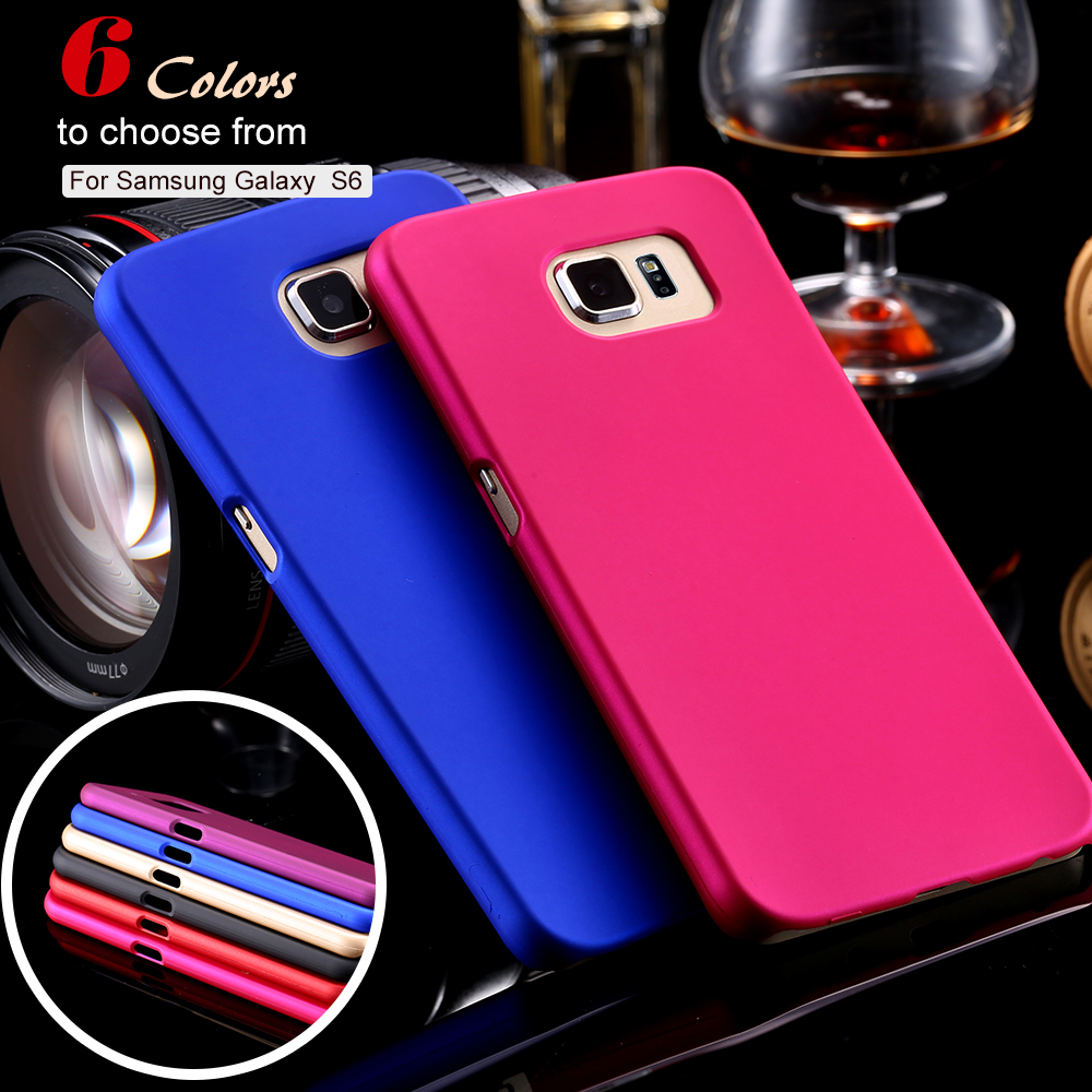 $1.99 New Hard PC + Mat Case For Samsung Galaxy S6 G9200 G920F G920I G920A Dave PC Candy Color Network Case For S 6(China (Mainland))