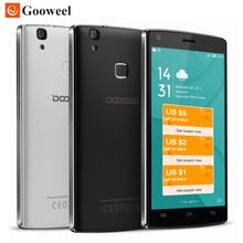 Original Doogee X5 MAX 3G / X5 MAX PRO 4G 5.0inch HD Smartphone Quad Core Cell Phone 4000mAh Mobile Phone Fingerprint ID 8MP+8MP(China (Mainland))