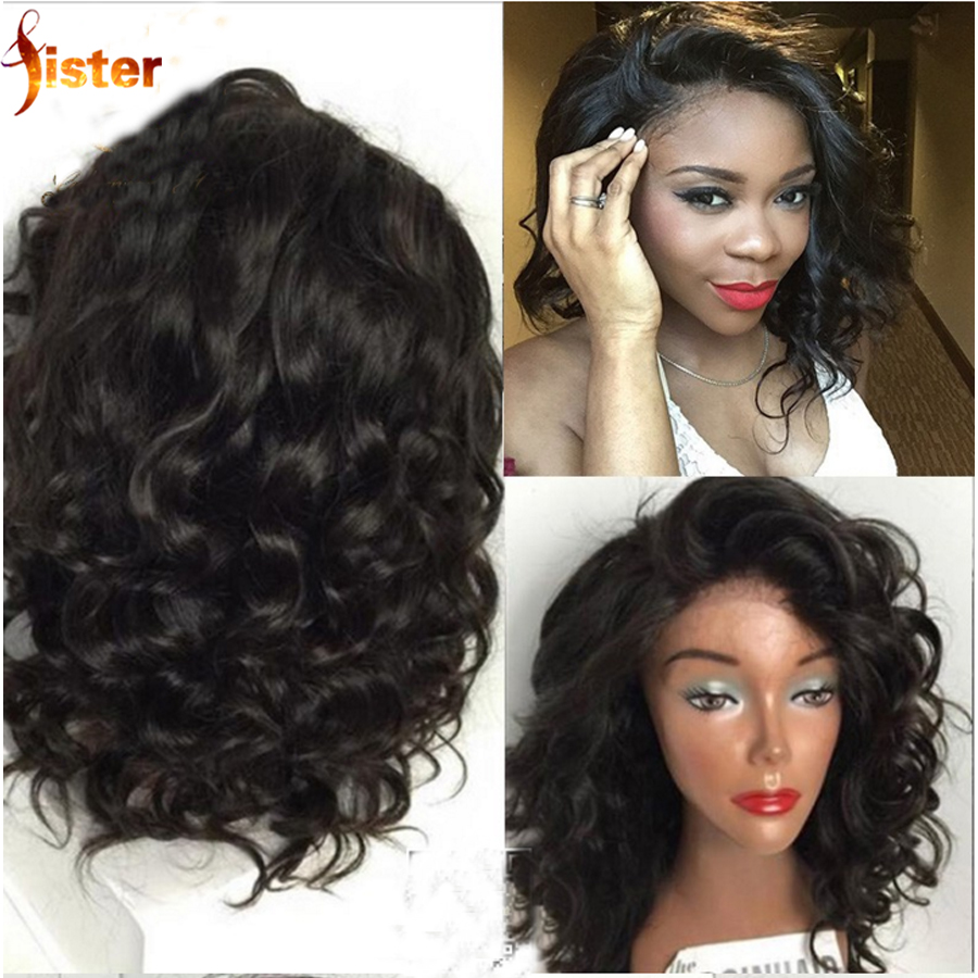 Brazilian Glueless Lace Front Human Hair Wig Boy Wave Cheap Full Lace Human Hair Wig For Black Women 7A Brazilian Lace Front Wig<br><br>Aliexpress